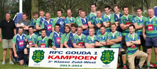 RFC Gouda vs DIOK 3 (kampioenswedstrijd)