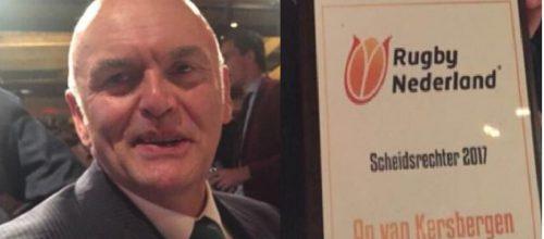 Ap van Kersbergen beste rugbyscheidsrechter van Nederland