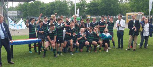 Goudse Junioren winnen de landelijke Plate Competitie